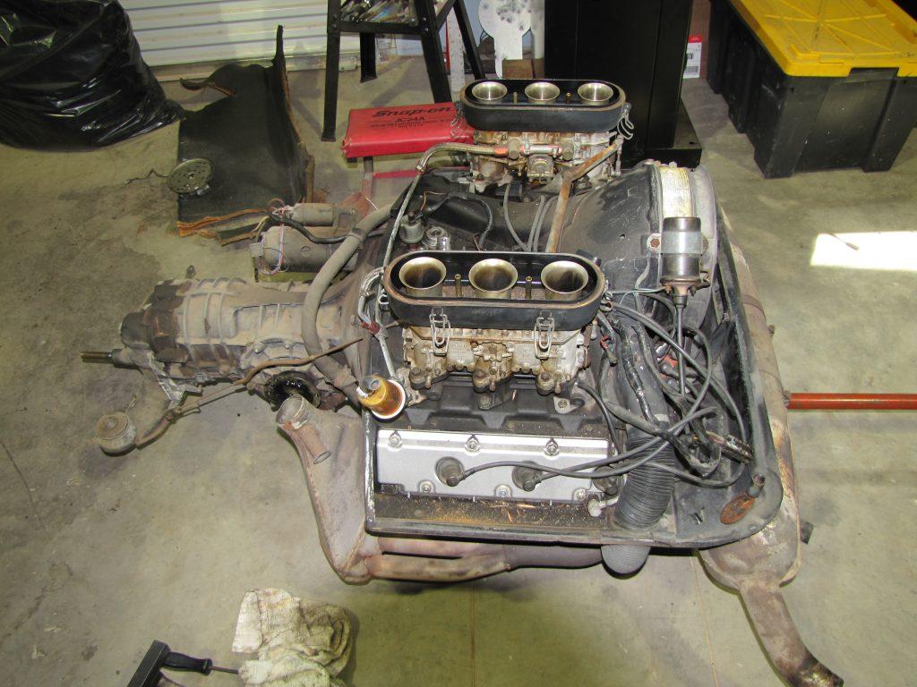 Conjunto de motor y transmisión 911