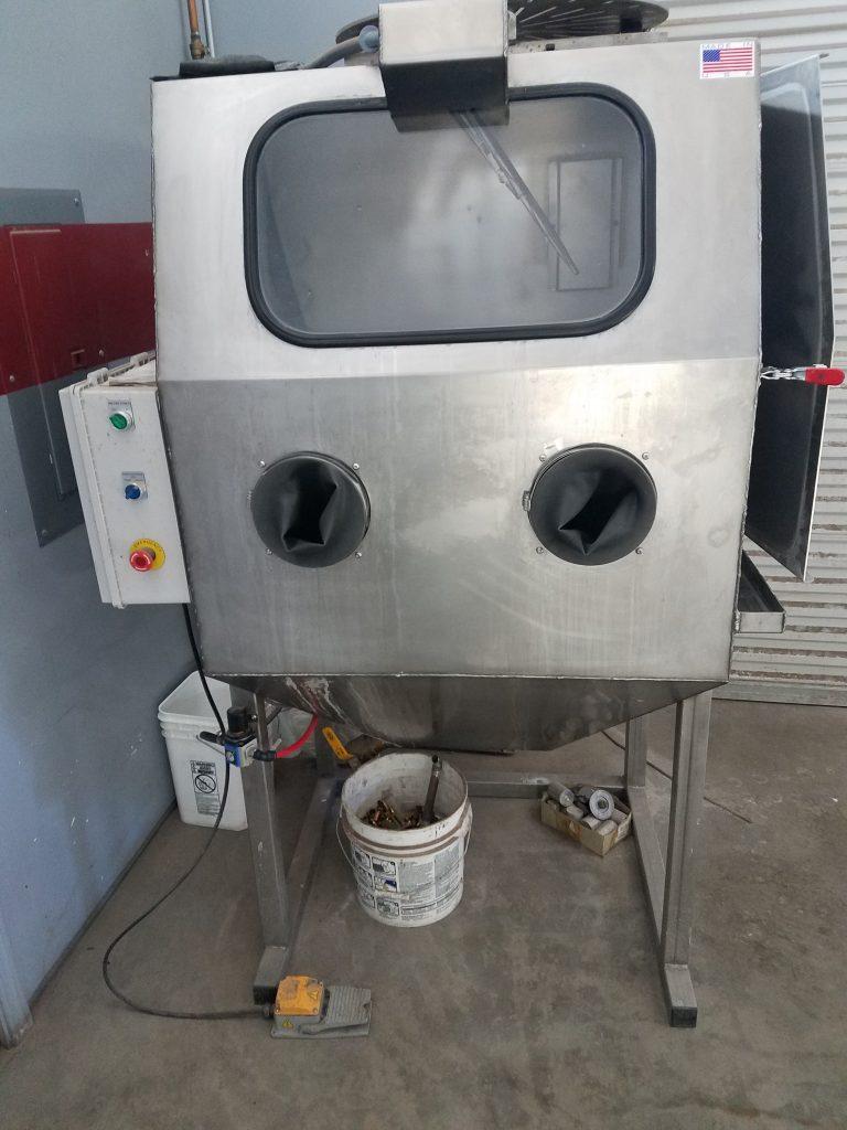 Máquina de chorro de vapor
