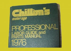 Labor guide book from 1976