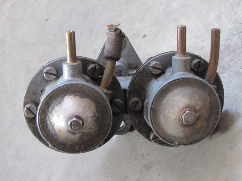 Unrestored Double Fuel Pump Solex 40P-I