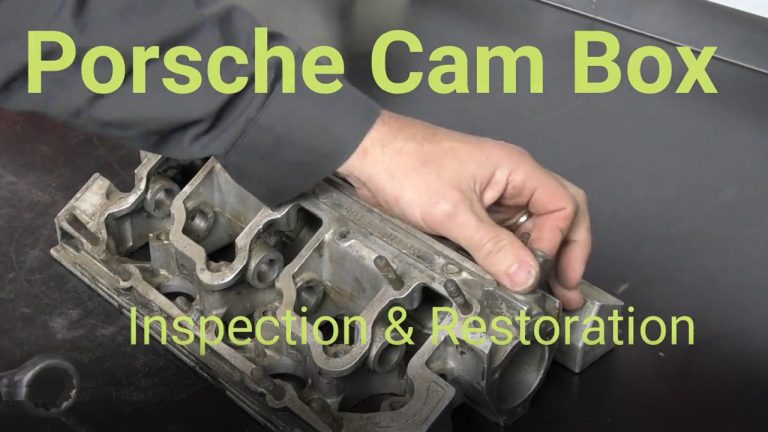 Porsche Cam Box Restoration