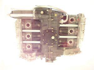 Bottom view of Porsche air-cooled motor