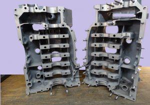 Porsche Magnesium engine case