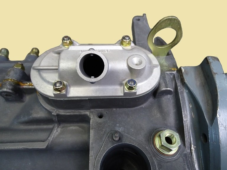 Porsche Air-Cooled Engine Oil Breather plate